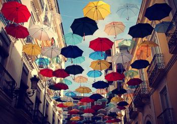 L'ombrello quando c'è il sole