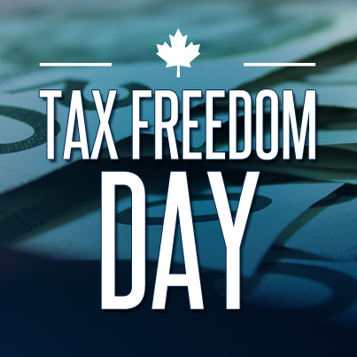 Tax freedom day?
