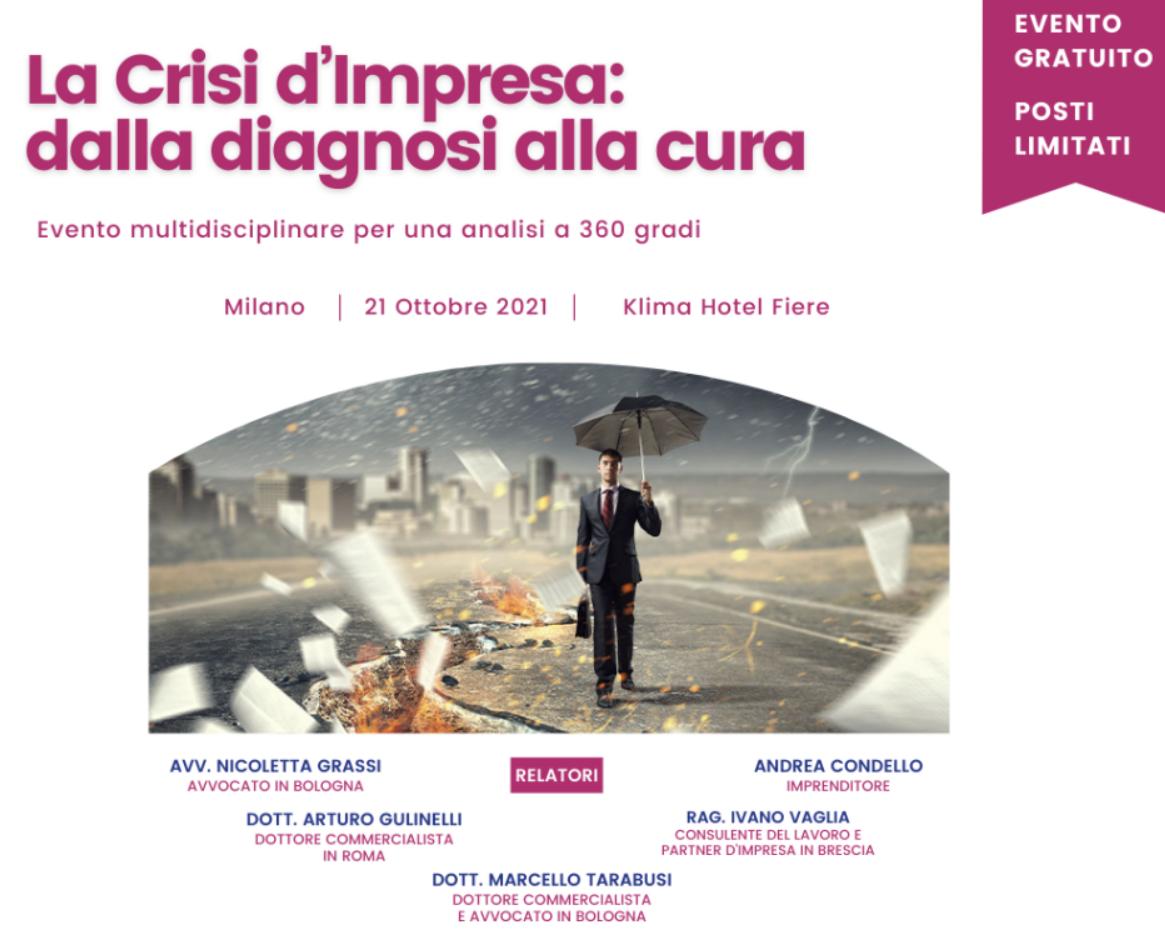 La Crisi d'impresa: dalla diagnosi alla cura
